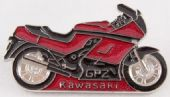 Kawasaki - 'Bike' Enamel Badge